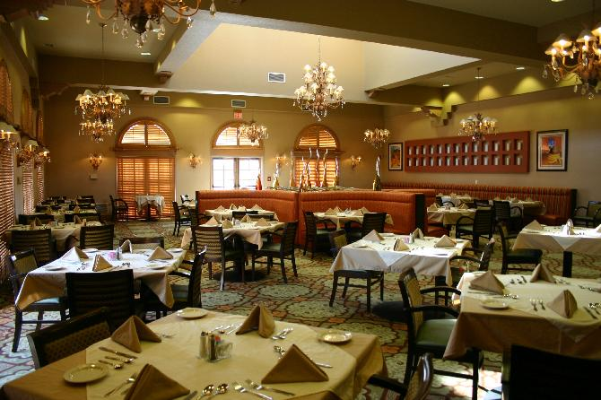 General Contractor / Commercial Remodeling and Renovation of Red Sky Restaurant Dining Room Photo