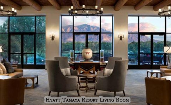 Hyatt Tamaya Resort Living Room Commercial Remodel and Renovation