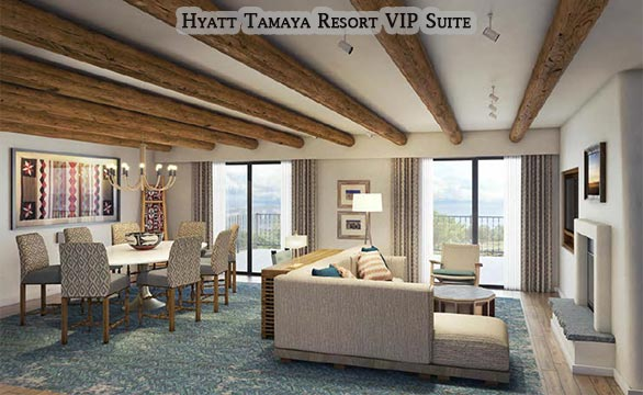 Hyatt Tamaya Resort VIP Suite Commercial Remodel and Renovation