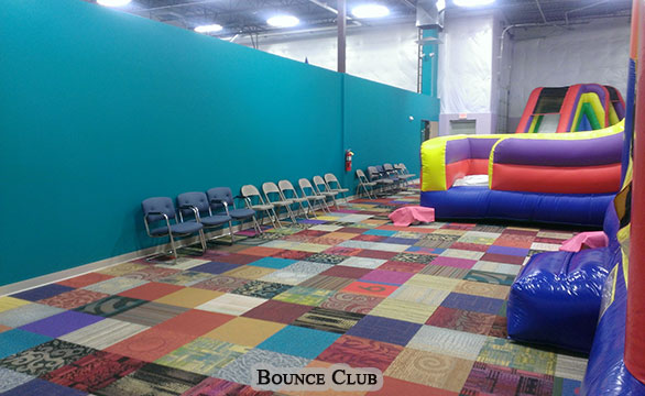 Bounce Club Commercial Remodel and Renovation