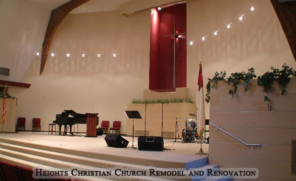 Heights Christian Church Commercial Remodel and Renovation