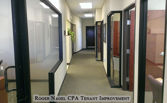Roger Nagel CPA Tenant Improvement Rio Rancho Commercial Remodel and Renovation